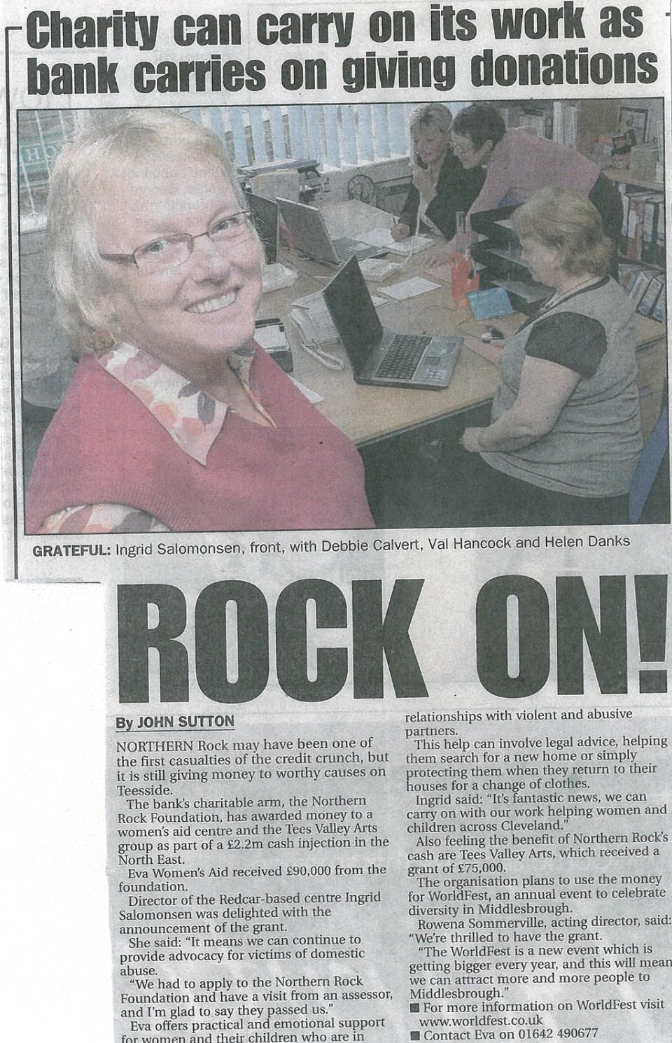 2008-10-22, Evening Gazette