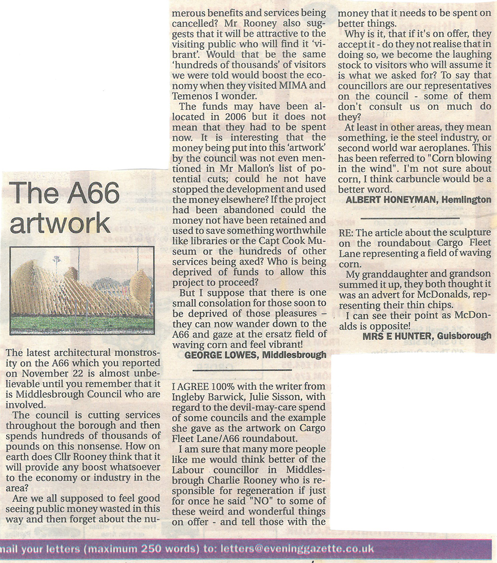 2011-12-01, Evening Gazette