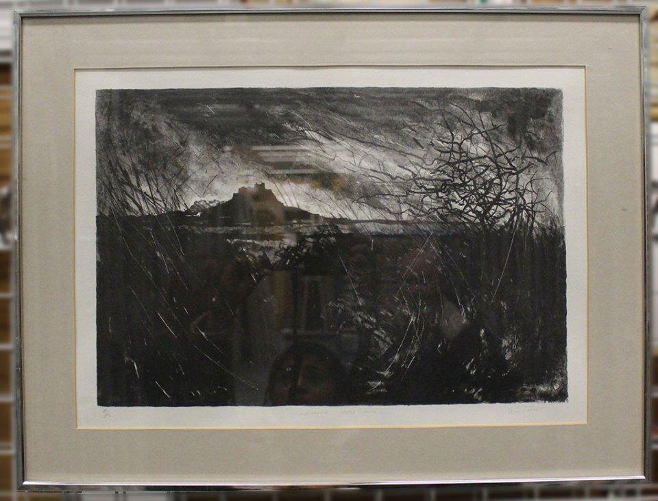 Len_Tabner_Lindisfarne_Castle_Dusk