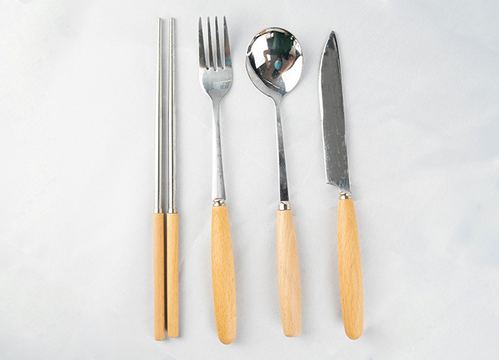 Wooden Handle Utensils 3