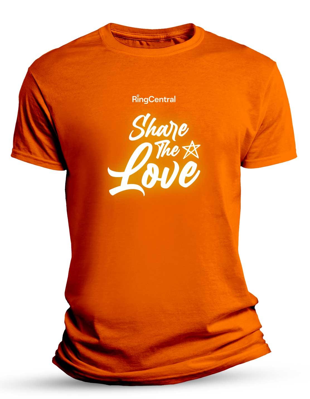 Stl Shirt Orange
