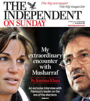 Jemima and Musharraf