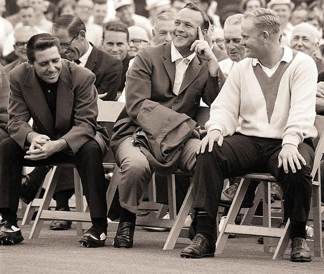 Image result for Jack Nicklaus and Arnold Palmer Gary Player