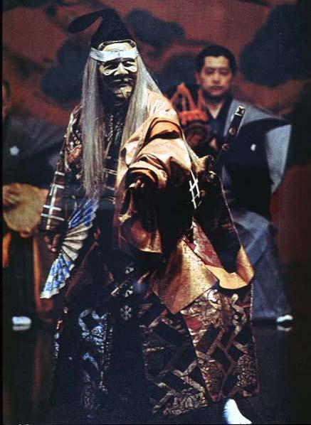 Der Geist des Sanemori als alter Mann