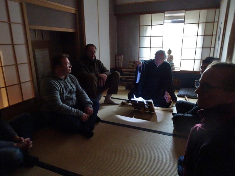 Begegnung im Myoshinan - Vor der Teezeremonie