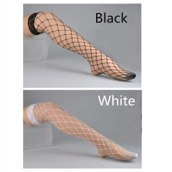 Thigh High Lace Fishnet Stockings