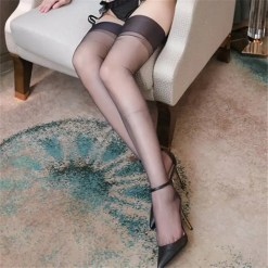 Transparent Erotic Over the Knee Long Stockings