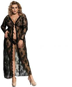 Womens Plus Size Nightgown Long Sleeve