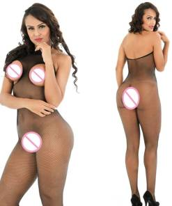 Crotchless Body Stocking Lingerie