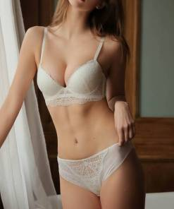 Underwear and Bra for Ladies Set Lace Push-up Lingerie