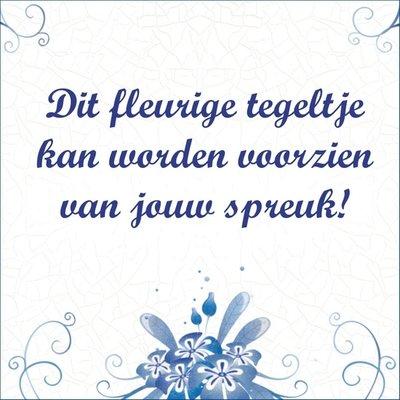 Delfts Blauwe bloemen (nr. 29)