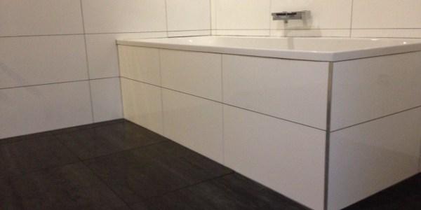 Badkamer Bad Betegelen Tegelwerken Benoey Merksem
