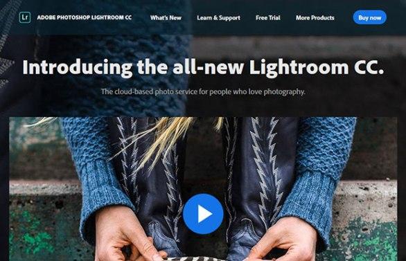 adobe lightroom software edit foto