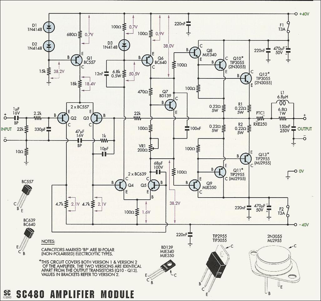 Amplificator Audio Cu 2n Sau Tip