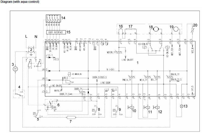 Rice Cooker Schematic Wiring Diagram