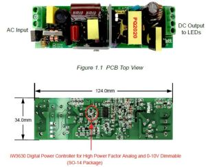 AC 230V LED Driver Dimmer circuit diagram 010V or