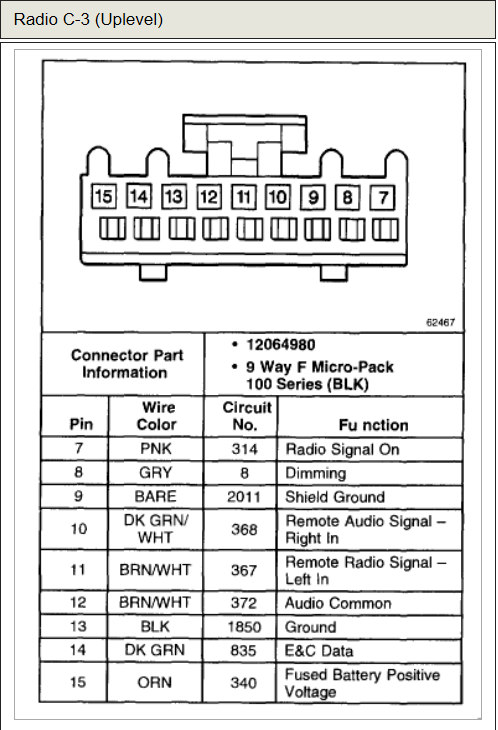 Chevrolet Tahoe LS 2000 stereo wiring connector 4?resize=498%2C730 2004 chevy silverado wiring diagram chevy silverado tail light 01 chevy silverado stero wiring diagram at gsmportal.co