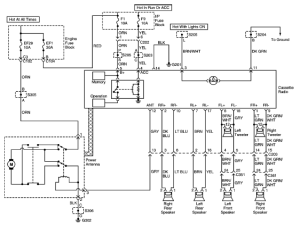 DAEWOO Car Radio Stereo Audio Wiring Diagram Autoradio