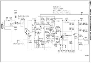 Dimmer LED circuit diagram 80W power supply
