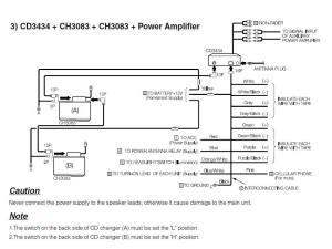 FUJITSU TEN Car Radio Stereo Audio Wiring Diagram