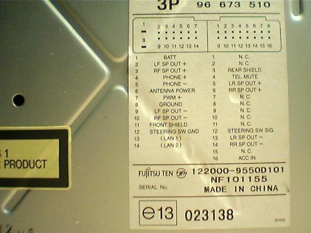 FUJITSU TEN?resize\\\=640%2C480 86120 14350 fujitsu ten radio diagram,ten \u2022 edmiracle co  at crackthecode.co