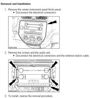 FORD Car Radio Stereo Audio Wiring Diagram Autoradio connector wire installation schematic