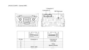 HYUNDAI Car Radio Stereo Audio Wiring Diagram Autoradio