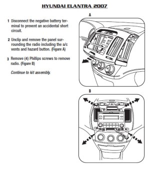 HYUNDAI Car Radio Stereo Audio Wiring Diagram Autoradio