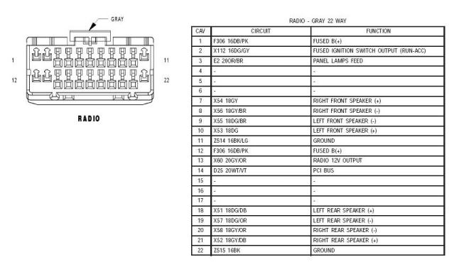 2004 jeep grand cherokee limited stereo wiring diagram
