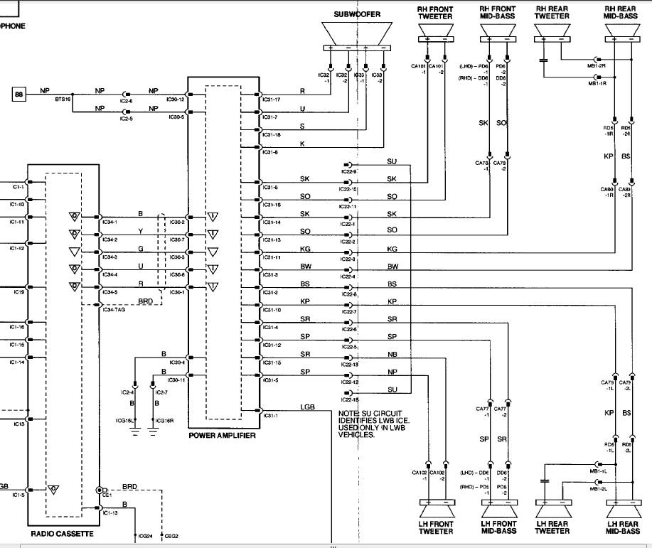 2001 Jaguar S Type Radio Wire Diagram  Somurich