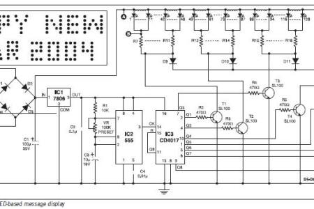 Led sign board circuit diagram 4k pictures 4k pictures full hq word h fig circuit diagram of led based message display led sign sequencer steps picture of circuit led scrolling display project working with circuit ccuart Choice Image