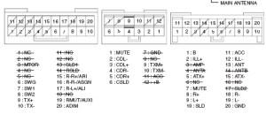 LEXUS Car Radio Stereo Audio Wiring Diagram Autoradio