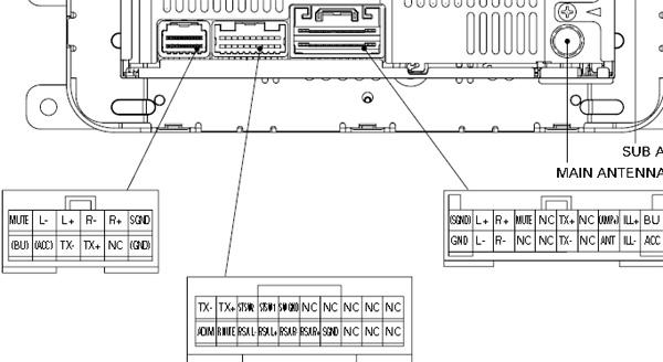 Pioneer deh p4200ub wiring harness