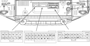PIONEER Car Radio Stereo Audio Wiring Diagram Autoradio connector wire installation schematic