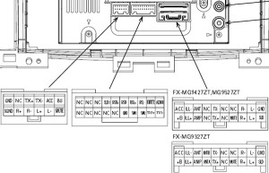 TOYOTA Car Radio Stereo Audio Wiring Diagram Autoradio