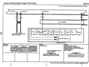 MAZDA Car Radio Stereo Audio Wiring Diagram Autoradio