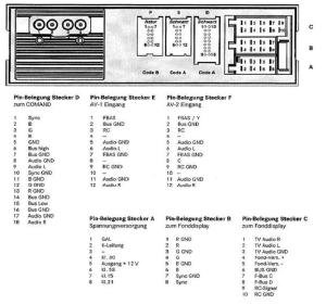 MERCEDES Car Radio Stereo Audio Wiring Diagram Autoradio