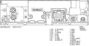 PIONEER Car Radio Stereo Audio Wiring Diagram Autoradio