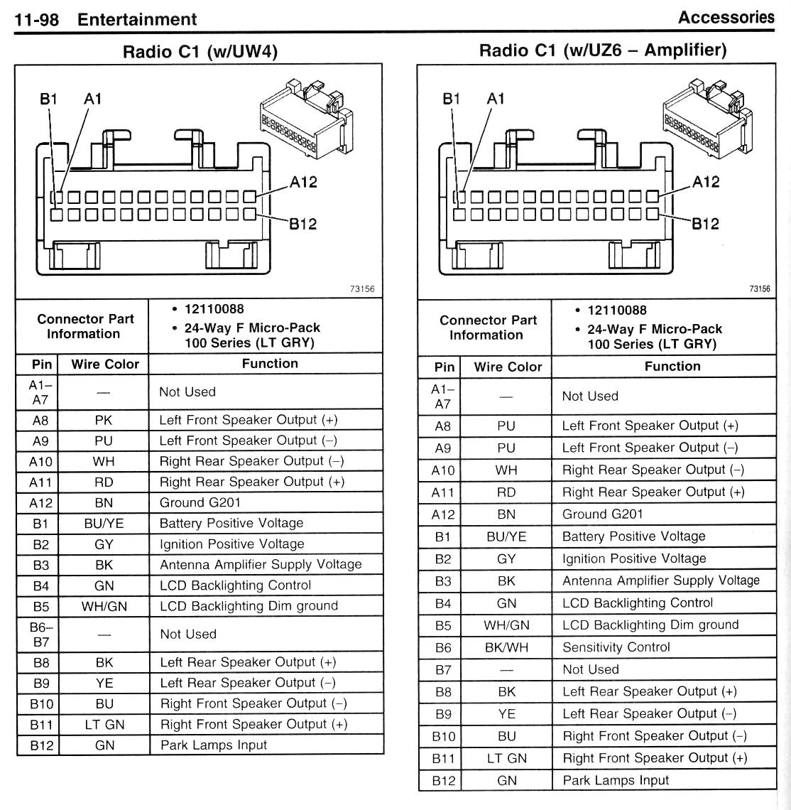 ... solved i need a stereo wiring diagram for 1995 chevrolet fixya 2007  Chevy Tahoe Dash Crack