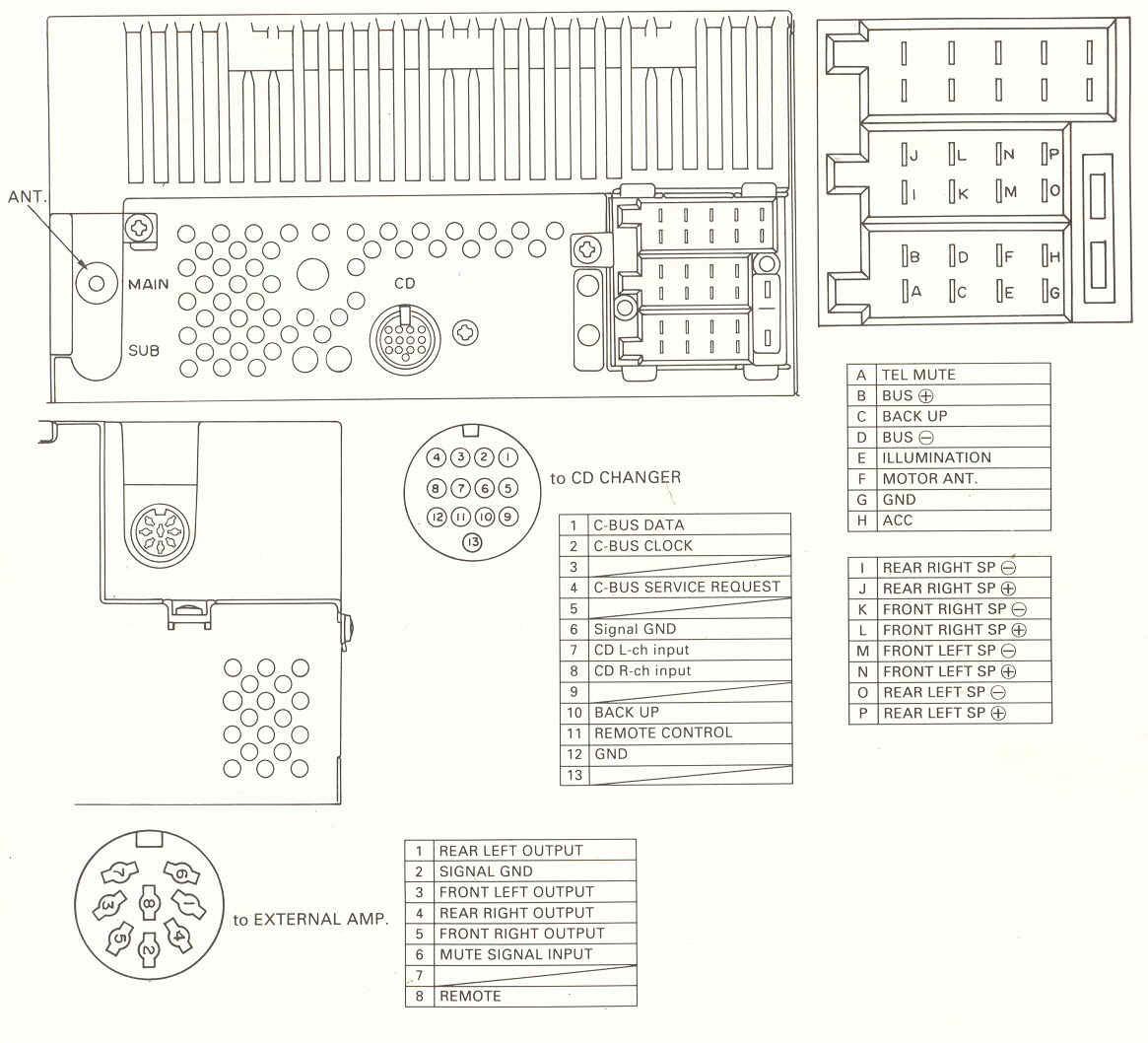 pioneer deh 10 wiring diagram deh