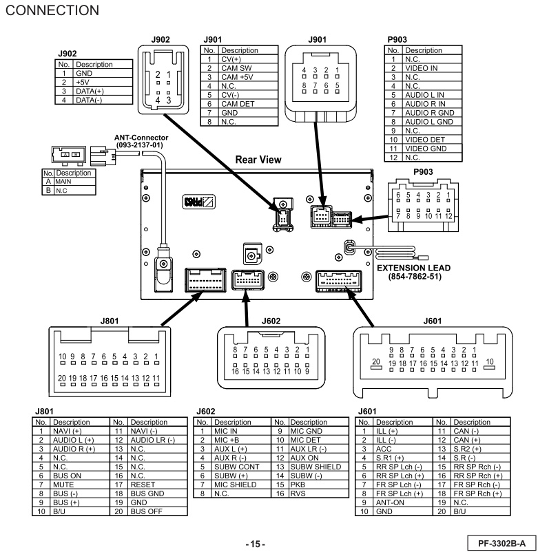 Subaru Forester 2011 CP635U1 PF 3302B A wiring connector?resize\=665%2C683 2015 wrx radio wiring diagram dual stereo wiring harness diagram 2006 subaru forester wiring diagram at bakdesigns.co