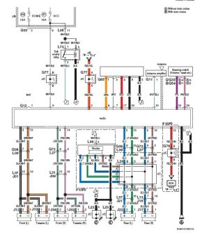 SUZUKI Car Radio Stereo Audio Wiring Diagram Autoradio connector wire installation schematic