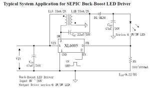 12V LED circuit diagram Switching Constant Current Driver circuit diagram
