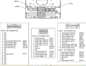 TOYOTA Car Radio Stereo Audio Wiring Diagram Autoradio