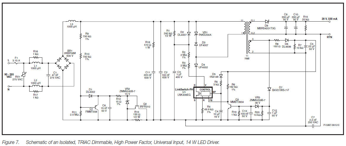 TRIAC Dimmable LED Driver 14 W circuit diagram 8?resize=665%2C281&ssl=1 mark 7 0 10v dimming ballasts wiring diagram wiring diagram mark 7 0-10v dimming ballasts wiring diagram at n-0.co