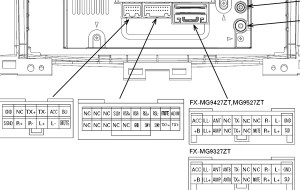 TOYOTA Car Radio Stereo Audio Wiring Diagram Autoradio