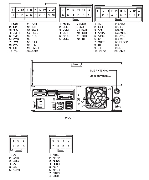 Toyota P6502 DVZ MG8077ZT PIONEER Land Cruser car stereo wiring diagram harness pinout connector?resize\=476%2C574 toyota hilux stereo wiring diagram toyota camry speedometer wiring  at cos-gaming.co