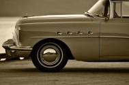 Buick Roadmaster in golden hour