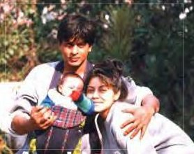 Image result for shahrukh gauri young