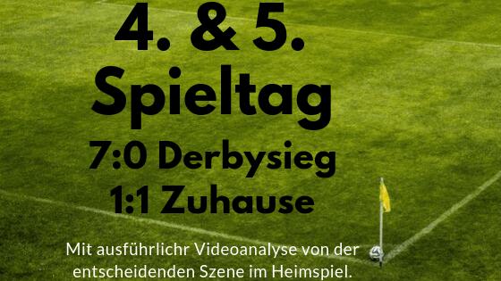 4. & 5. Spieltag – Review